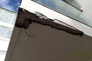 Failed and damaged Waterproofing. Sydney