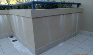 Failed and damaged Waterproofing. Manly, Sydney